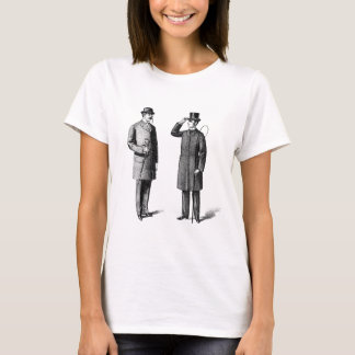 Two victorian gentlemen T-Shirt