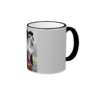 Two Victorian Ladies with Roses painting Mugs