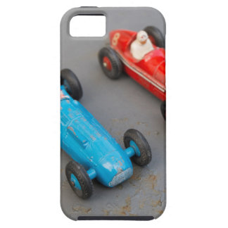 Two vintage toy cars iPhone 5 cases