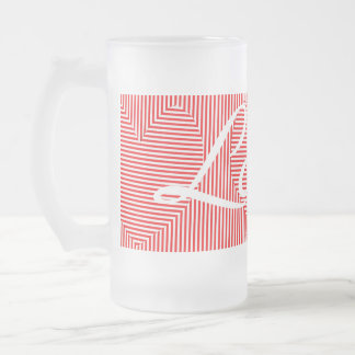 Two-way Stripes and Hearts Love Mug