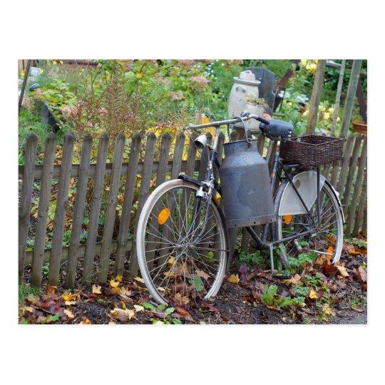 Two Wheeler Bike Country style Postcard