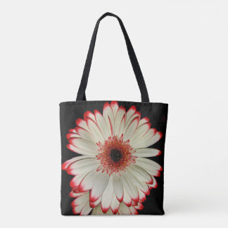 Two White Gerbera Daisies Tote Bag