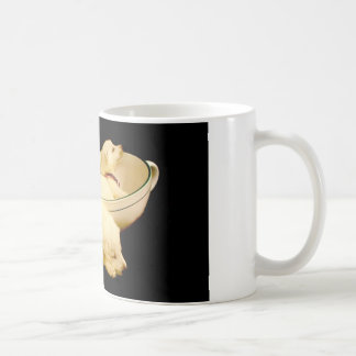 Two White German Shepherd Puppies Coffee Mug