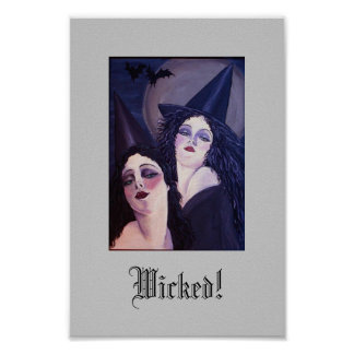 Two Wicked Witches Poster