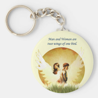 Two Wings Key Ring