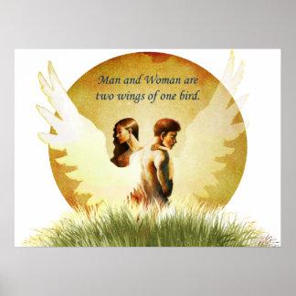 Two Wings Print