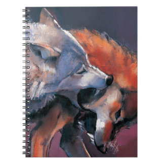 Two Wolves Notebook