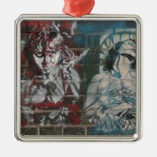 Two women christmas ornament