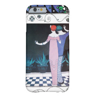 TWO WOMEN IN THE NIGHT Art Deco Beauty Fashion Barely There iPhone 6 Case