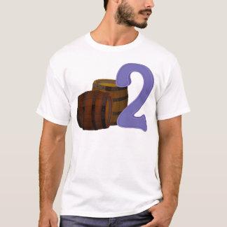 Two wooden barrels T-Shirt