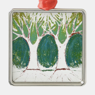 Two Words Christmas Ornament