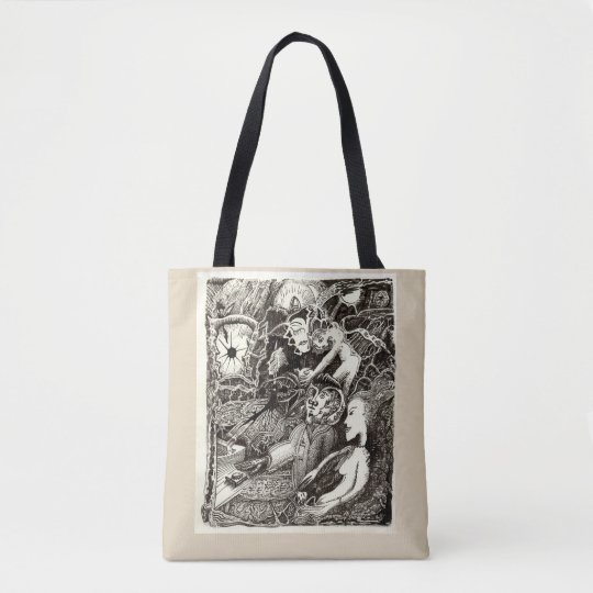 Two Worlds, by Brian Benson Tote Bag