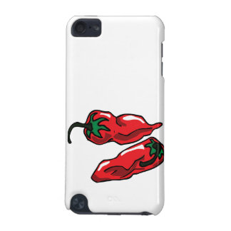 Two Wrinkled Red Peppers  Stems Graphic iPod Touch 5G Cover