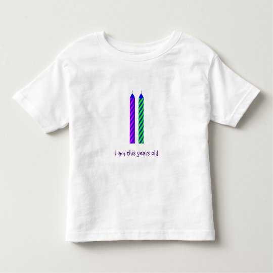 Two Year Old Birthday T-Shirt
