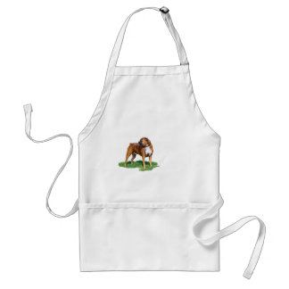 Two Year Old Boxer Adult Apron