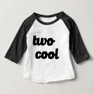 TWO YEAR OLD TOO COOL FUNNY HIPSTER KIDS BABY T-Shirt