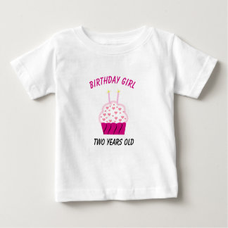 Two Years Old Birthday Cupcake T Shirts