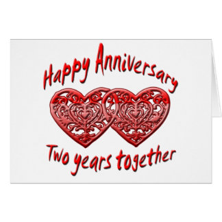 Two Years Together Card