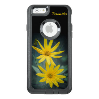Two yellow flowers of Jerusalem artichoke OtterBox iPhone 6/6s Case