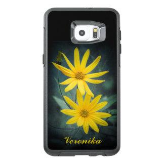 Two yellow flowers of Jerusalem artichoke OtterBox Samsung Galaxy S6 Edge Plus Case