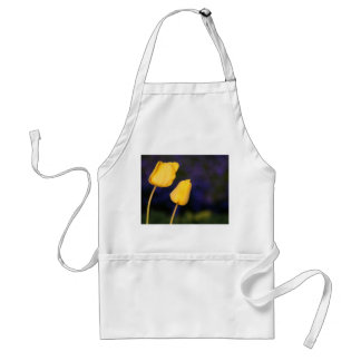 Two Yellow Tuilps Standard Apron