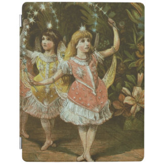 Two young girls perform ballet iPad cover