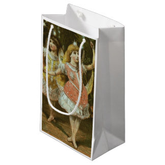 Two young girls perform ballet small gift bag