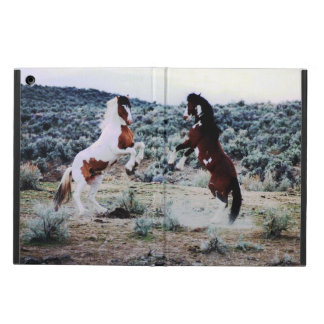 Two Young Horses Playing iPad Air Cover