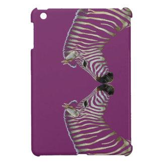 Two Zebras Nose to Nose iPad Mini Case