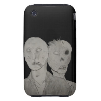 Two Zombies iPhone 3 Tough Covers