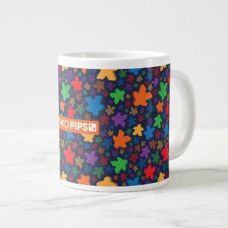 TwoPips: Meeple Print Jumbo Mug
