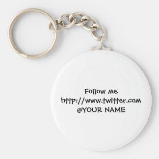 Twosse name tag keychains