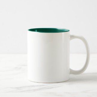 TwoTONE GREEN MUG gift Template + color text image