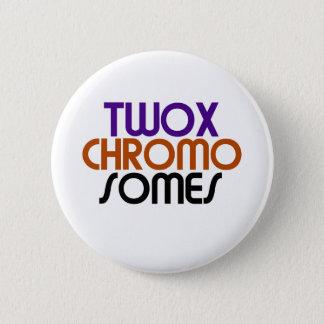 TwoXChromosomes 6 Cm Round Badge