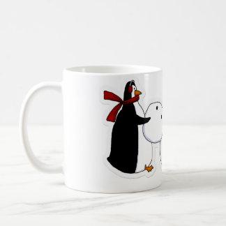 twp peguins mug