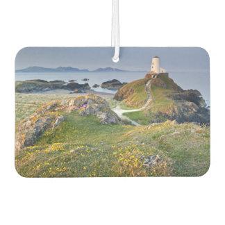 Twr Mawr Lighthouse On Llanddwyn Island Car Air Freshener