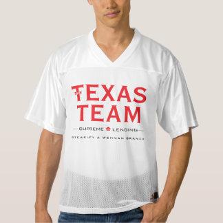 TX Team - Men's Football Jersey, Vert