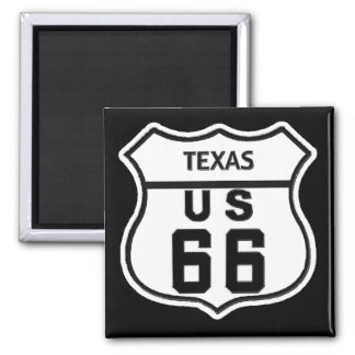 TX US ROUTE 66 REFRIGERATOR MAGNET