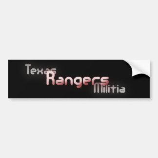 TxM Rangers Bumper Sticker Car Bumper Sticker