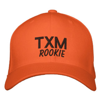 TXM Rookie Embroidered Hats
