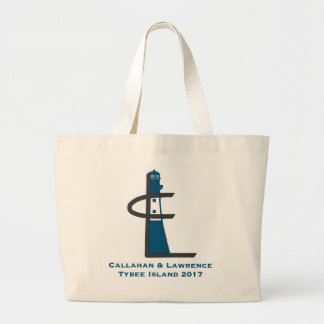 Tybee Island Family Reunion 2017 Large Tote Bag