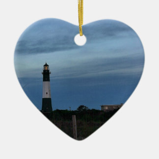 Tybee Island Light House Savannah, GA Christmas Ornament