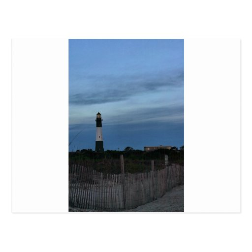 Tybee Island Light House Savannah, GA Post Card