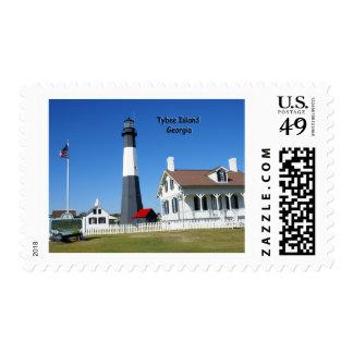 Tybee Island Lighthouse Postage