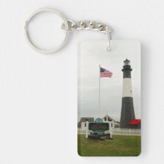 Tybee Island Lighthouse Station Key Ring