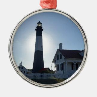 Tybee Lighthouse Christmas Ornament