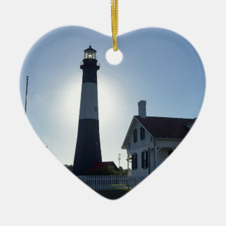 Tybee Lighthouse Christmas Ornament