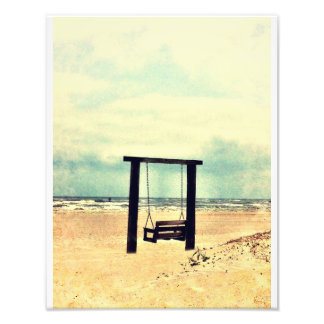 Tybee Swing Art Photo