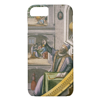 Tycho Brahe (1546-1601) aged 40, amongst his astro iPhone 8/7 Case