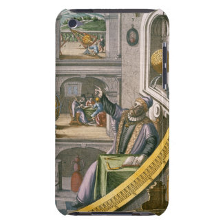 Tycho Brahe (1546-1601) aged 40, amongst his astro iPod Touch Case-Mate Case